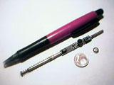 Mikrofon im Kugelschreiber