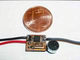 Quarzgesteuerter Sender zum Einbau in elektrische Geräte jeder Art mit bis zu 5km. Reichweite