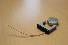Funkwanze mit Knopfbatterie (6-9 Monate Lebensdauer)